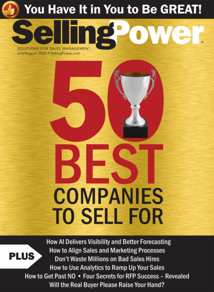 SellingPower Magazine Issue